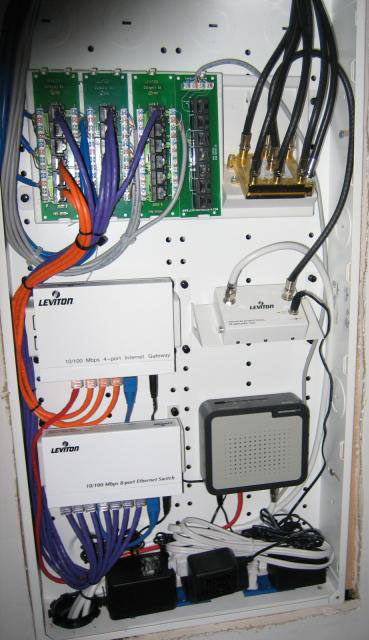 audio tech services  ats  custom home audio video Residential Wiring Leviton Structured Wiring
